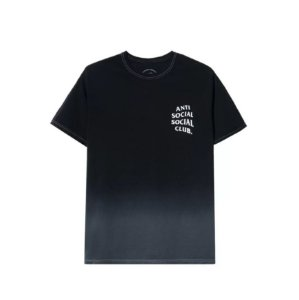 "ANTI SOCIAL SOCIAL CLUB - Camiseta Gone ""Preto"" -NOVO-"