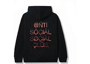 """ANTI SOCIAL SOCIAL CLUB - Moletom ASSC999 """"Preto"""" -NOVO-"""