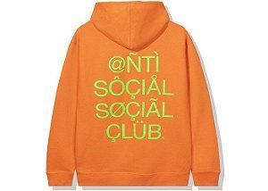 """ANTI SOCIAL SOCIAL CLUB - Moletom ASSC999 """"Laranja"""" -NOVO-"""