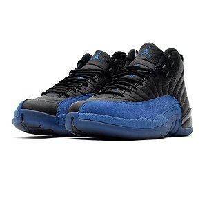 """!NIKE - Air Jordan 12 Retro """"Black/Game Royal"""" -USADO-"""