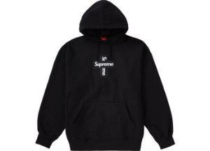 "SUPREME - Moletom Box Logo Cross ""Preto"" -NOVO-"
