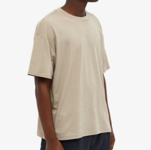 "FOG - Camiseta Essentials ""Khaki"" -NOVO-"