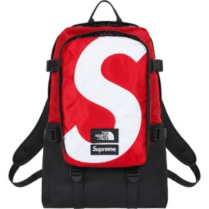 "SUPREME x THE NORTH FACE - Mochila S Logo Expedition ""Vermelho"" -NOVO-"