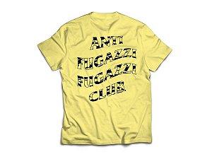 "ANTI FUGAZZI FUGAZZI CLUB - Camiseta Country ""Amarelo"" -NOVO-"