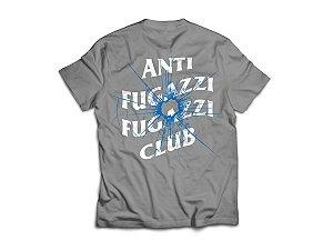 "ANTI FUGAZZI FUGAZZI CLUB - Camiseta Theories ""Grafite"" -NOVO-"