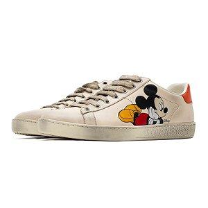 "!GUCCI X DISNEY - Ace Low Mickey Mouse ""White""  -USADO-"