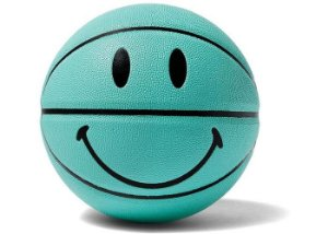 "!CHINATOWN MARKET - Bola de Basquete Breakfast Smiley ""Verde"" -NOVO-"