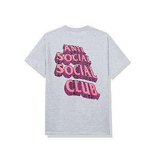 """!ANTI SOCIAL SOCIAL CLUB - Camiseta Facade """"Cinza"""" -NOVO-"""
