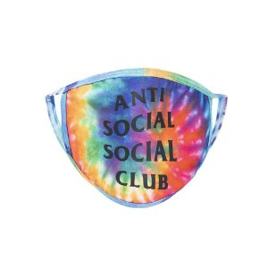 "!ANTI SOCIAL SOCIAL CLUB - Máscara Sugar Coat ""Tie Dye"" -NOVO-"