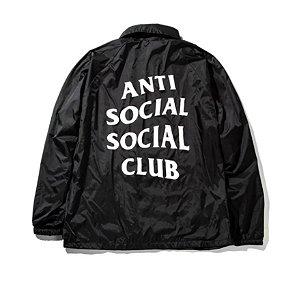 "ANTI SOCIAL SOCIAL CLUB - Jaqueta Grove ""Preto"" -NOVO-"
