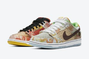 "NIKE - SB Dunk Low ""Street Hawker"" -NOVO-"