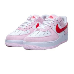 """NIKE - Air Force 1 Low '07 QS """"Valentine's Day Love Letter"""" (39,5 BR / 8 US) -NOVO-"""