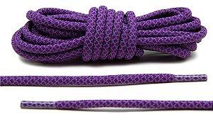 Cadarço Rope Refletivo - Roxo - 125 cm