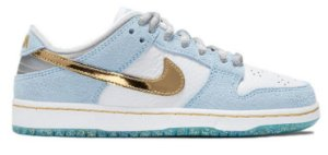 "NIKE X SEAN CLIVER - SB Dunk Low PS ""Holiday Special"" (Infantil) -NOVO-"