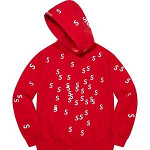 """ENCOMENDA - SUPREME - Moletom Embroidered S """"Vermelho"""" -NOVO-"""