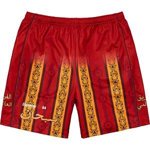 "ENCOMENDA - SUPREME - Bermuda Arabic Logo Soccer ""Vermelho"" -NOVO-"