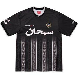 """ENCOMENDA - SUPREME - Camisa Arabic Logo Soccer """"Preto"""" -NOVO-"""