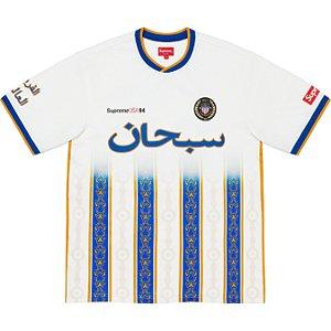 """ENCOMENDA - SUPREME - Camisa Arabic Logo Soccer """"Branco"""" -NOVO-"""