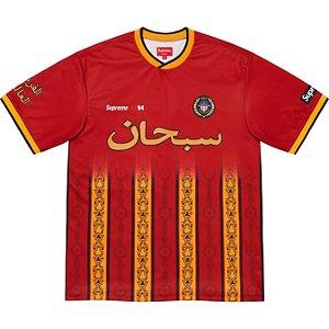 "ENCOMENDA - SUPREME - Camisa Arabic Logo Soccer ""Vermelho"" -NOVO-"