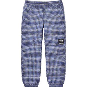 "ENCOMENDA - SUPREME x THE NORTH FACE - Calça Studded Nuptse ""Azul"" -NOVO-"