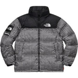"SUPREME x THE NORTH FACE - Jaqueta Studded Nuptse ""Preto"" -NOVO-"