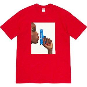 "ENCOMENDA - SUPREME - Camiseta Water Pistol ""Vermelho"" -NOVO-"