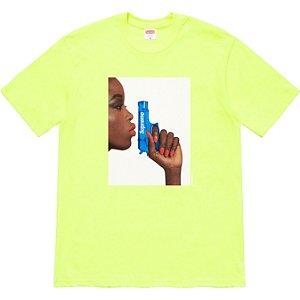 "ENCOMENDA - SUPREME - Camiseta Water Pistol ""Verde"" -NOVO-"