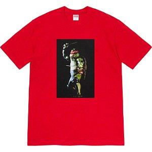 """ENCOMENDA - SUPREME - Camiseta Raphael """"Vermelho"""" -NOVO-"""