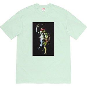 """ENCOMENDA - SUPREME - Camiseta Raphael """"Verde"""" -NOVO-"""