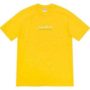 "ENCOMENDA - SUPREME - Camiseta Five Boroughs ""Amarelo"" -NOVO-"