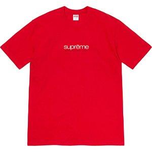 """ENCOMENDA - SUPREME - Camiseta Five Boroughs """"Vermelho"""" -NOVO-"""