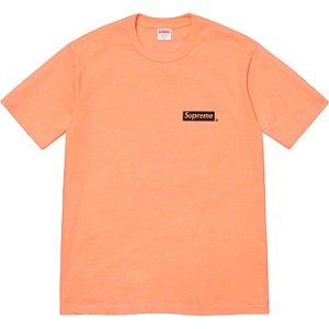 """ENCOMENDA - SUPREME - Camiseta Spiral """"Laranja"""" -NOVO-"""