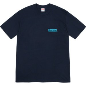 "ENCOMENDA - SUPREME - Camiseta Spiral ""Marinho"" -NOVO-"