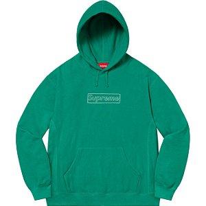 """ENCOMENDA - SUPREME x KAWS - Moletom Chalk Logo """"Verde"""" -NOVO-"""