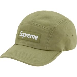 "ENCOMENDA - SUPREME - Boné Washed Chino Twill ""Verde"" -NOVO"