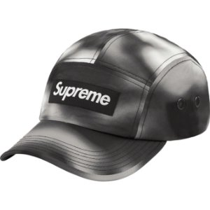 "ENCOMENDA - SUPREME - Boné Washed Satin Camo ""Preto"" -NOVO-"