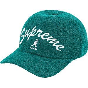 "ENCOMENDA - SUPREME x KANGOL - Boné Bermuda Spacecap ""Verde"" -NOVO-"