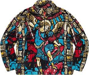 """ENCOMENDA - SUPREME - Jaqueta Fleece Saint Michael """"Multi"""" -NOVO-"""
