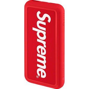 """SUPREME x MOPHIE - Carregador Portátil Powerstation Plus XL SS21 """"Vermelho"""" -NOVO-"""