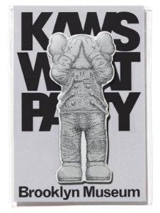 "KAWS x Brooklyn Museum - Ímã SPACE ""Cinza"" -NOVO-"