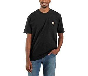 "!CARHARTT - Camiseta Pocket Loose Fit ""Preto"" -NOVO-"