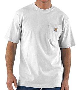 "CARHARTT - Camiseta Pocket Loose Fit ""Branco"" -NOVO-"