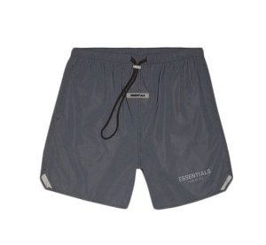 "FOG - Bermuda Essentials Volley ""Preto Refletivo"" -NOVO-"