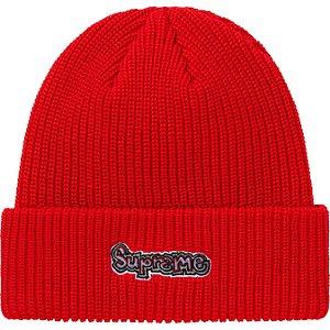 """ENCOMENDA - SUPREME - Touca Gonz Logo SS21 """"Vermelho"""" -NOVO-"""