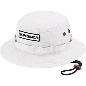 "ENCOMENDA - SUPREME - Chapéu Bucket Reflective Patch ""Branco"" -NOVO-"