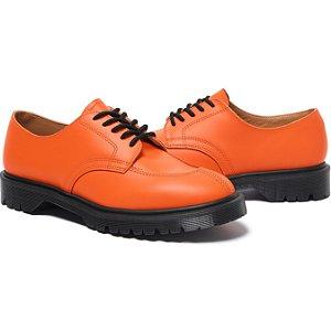 "ENCOMENDA - SUPREME x DR. MARTENS - Sapato Split Toe 5 Eye ""Orange"" -NOVO-"