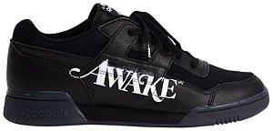 """REEBOK x AWAKE NY - Workout Lo Plus """"Black"""" -NOVO-"""