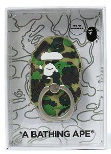 """BAPE - Anel para Smartphone ABC Ape Head """"Verde"""" -NOVO-"""