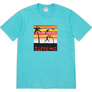 "ENCOMENDA - SUPREME - Camiseta Dunk ""Azul Claro"" -NOVO-"
