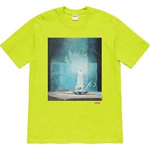 """ENCOMENDA - SUPREME - Camiseta Fuck """"Verde"""" -NOVO-"""
